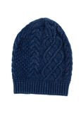 Knitted cotton hat Stock Image