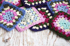 Knitted  Detail Stock Photography