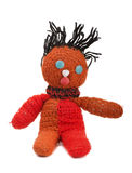Knitted doll Stock Images