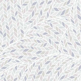 Knitted Doodle Seamless Colorful Ornamental  Pattern Stock Photography