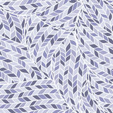 Knitted Doodle Seamless Colorful Ornamental  Pattern Stock Photos