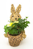 Knitted Easter Bunny Royalty Free Stock Images