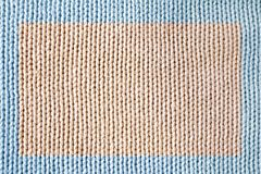 Knitted fabric. Macro of a woolen texture stock images