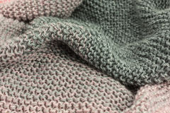 Knitted fabric Stock Photo