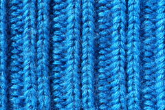 Knitted fabric close-up Stock Photos