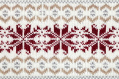 Knitted fabric cloth ornament Royalty Free Stock Image