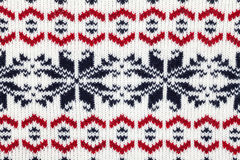 Knitted fabric cloth ornament Stock Photography