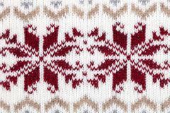 Knitted fabric cloth ornament Stock Photos