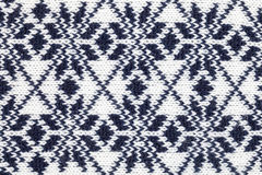 Knitted fabric cloth ornament Royalty Free Stock Photos