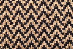 Knitted fabric cloth pattern Royalty Free Stock Photos