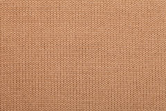 Knitted fabric cloth pattern Royalty Free Stock Images
