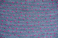 Knitted fabric gray background close up Stock Image