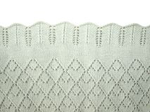 Knitted fabric knitting Stock Photos