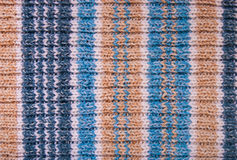 Knitted fabric knitting Royalty Free Stock Photos