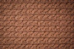 Knitted fabric knitting Stock Photo