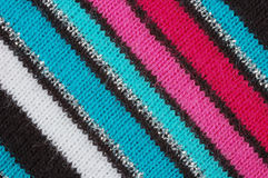 Knitted fabric material Stock Images