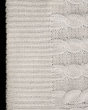 Knitted fabric for sweater. Seamless Royalty Free Stock Photo