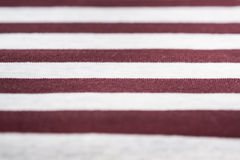 Knitted fabric texture and background with stripes Stock Photos