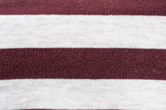 Knitted fabric texture and background with stripes Stock Photo