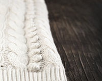 Knitted fabric texture Stock Photography