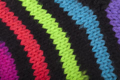 Knitted fabric texture Royalty Free Stock Image