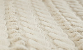 Knitted fabric texture Royalty Free Stock Photos