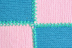 Knitted fabrics Stock Photo