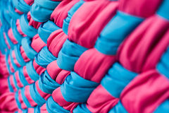 Knitted fabrics. Stock Photo