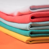 Knitted fabrics in assortment Stock Photography