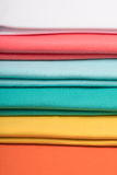 Knitted fabrics in assortment Stock Image