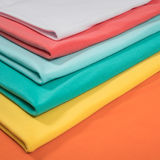 Knitted fabrics in assortment Royalty Free Stock Photo