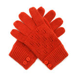 Knitted gloves Royalty Free Stock Image