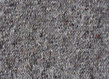 Knitted gray tweed pattern Royalty Free Stock Image