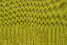 Knitted green background Royalty Free Stock Photo