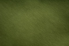 Knitted green fabric Stock Photo