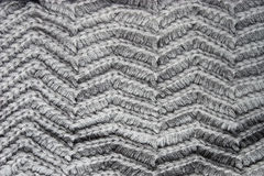 Knitted grey cloth Royalty Free Stock Photos