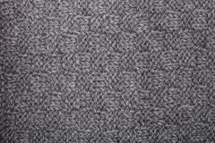 Knitted grey scarf texture. Background royalty free stock photos