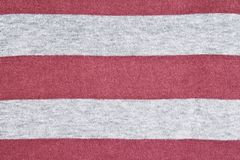 Knitted ha barrato la struttura del tessuto immagini stock libere da diritti