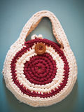 Knitted Handbag Royalty Free Stock Photo