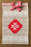 Knitted handmade Gift Bag Royalty Free Stock Image