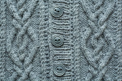 Knitted handmade texture Stock Photos