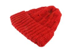 Knitted hat Stock Image