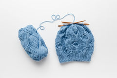 Knitted Hat Royalty Free Stock Photography
