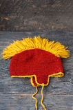 Knitted hat Stock Photo