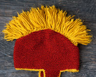 Knitted hat Royalty Free Stock Image