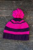 Knitted hat Royalty Free Stock Images