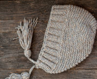 Knitted hat Royalty Free Stock Photo
