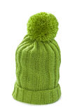 Knitted hat  isolated on white Royalty Free Stock Photos