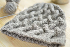 Knitted hat Stock Photos