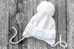 Knitted hat Stock Images